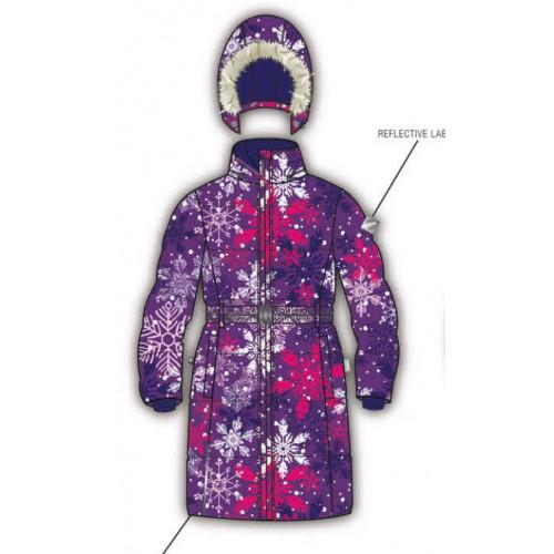 Зимнее пальто HUPPA YACARANDA 12030030-14353
