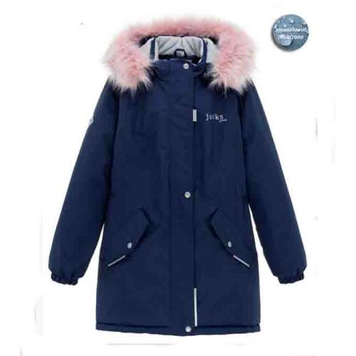 Зимняя куртка-парка  Joiks G-21 синий
