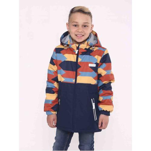 Демисезонная куртка парка Joiks EW-23 синий