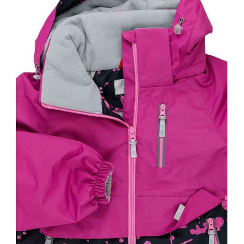 Демисезонная куртка парка Joiks EW-41 розовый