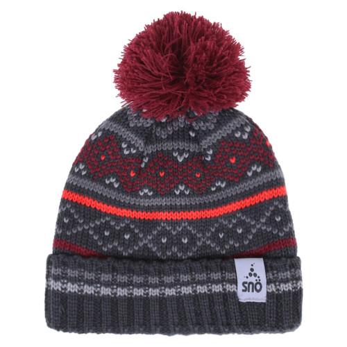 Зимняя шапка SNO F18TU313 CARNET RED