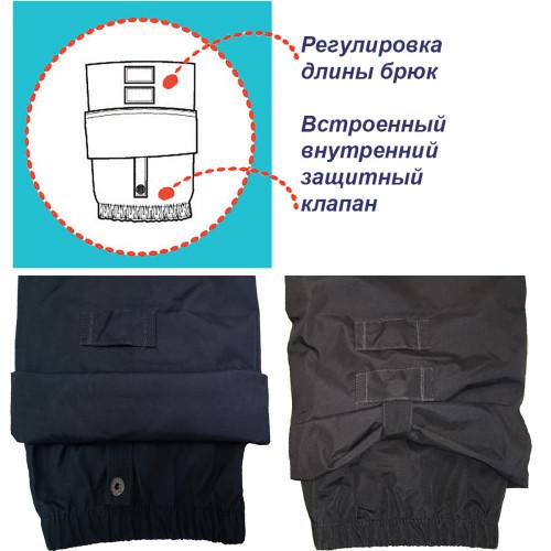 Демисезонные брюки Nano S17P256 Navy