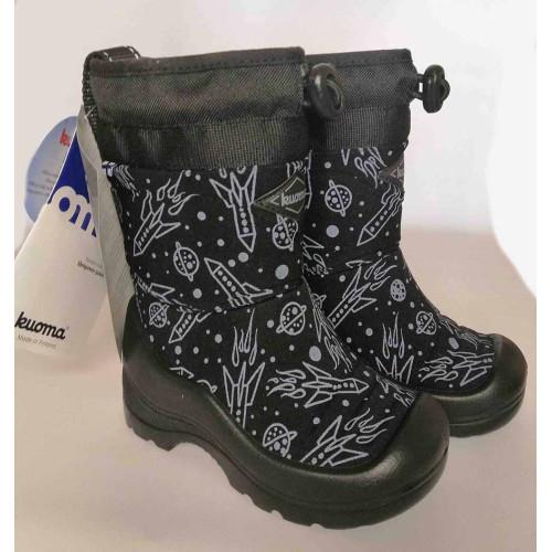Зимние сапоги Kuoma Snow lock 122203-399 Black Spaceship