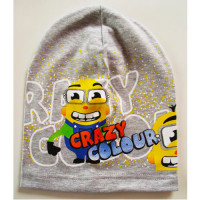 Трикотажная шапка Be Snazzy CRAZY COLOURS CDL-121030 светло-серый