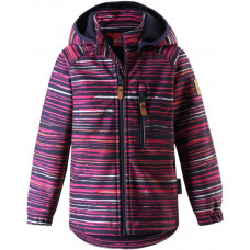 Демисезонная куртка SoftShell Reima VANTTI 521569.9-4961 бордовая