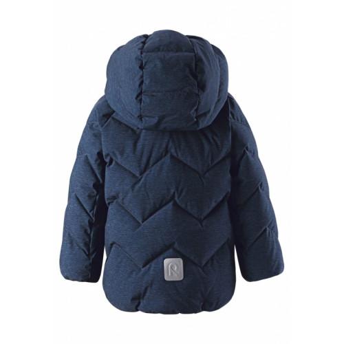 Зимняя куртка пуховик Reima ILTA 511289-6980 темно-синий
