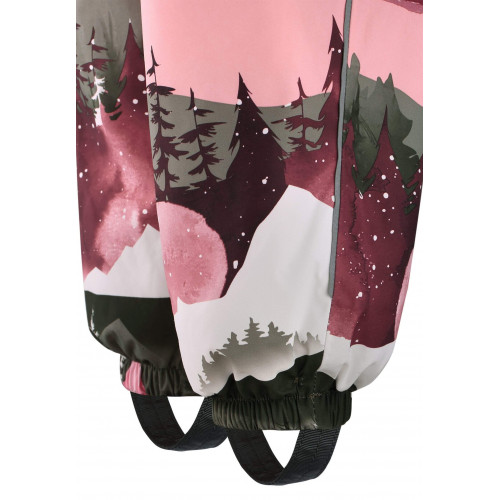 Зимний комбинезон ReimaTec PUHURI EXTRA 510306R-3917 розово-зеленый
