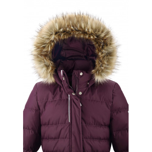 Зимнее пальто Reima SATU 531488-4960 бордовое