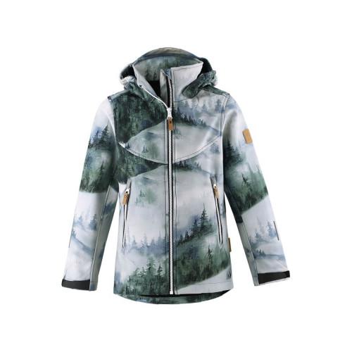 Демисезонная куртка SoftShell Reima Vandra 531414-8925