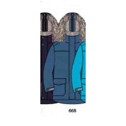 Зимняя куртка-парка Lenne Woody 18368-668
