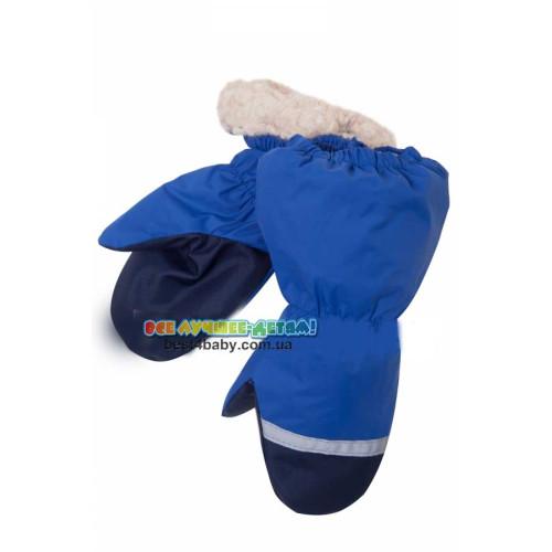 Рукавицы краги Lenne 18175-680 синие