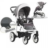 Прогулочная коляска Bebetto Nico SLW24 серый