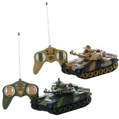 Военный игровой набор Bambi Танки (9993-2PC)