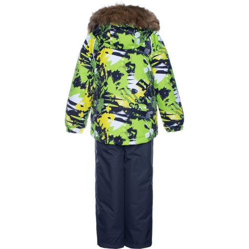 Зимний комплект Huppa WINTER 41480030-92847 зеленый