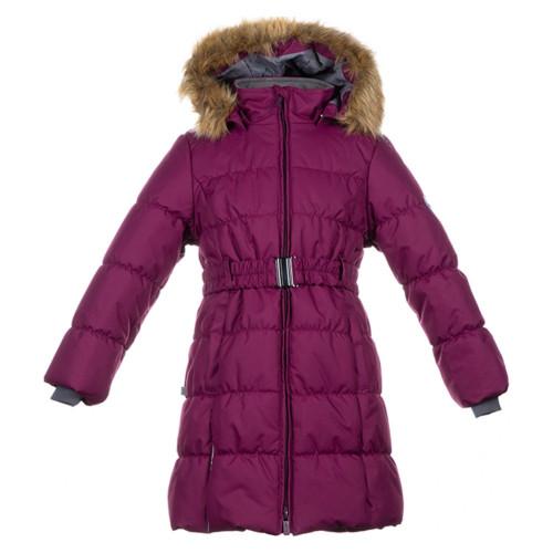 Зимнее пальто HUPPA YACARANDA 12030030-80034 бордовый