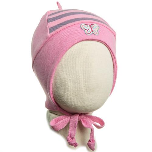Демисезонная шапка Kivat Бабочка 351910-36