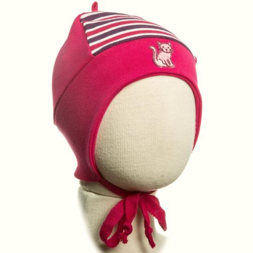 Демисезонная шапка Kivat Кошечка 351910-45