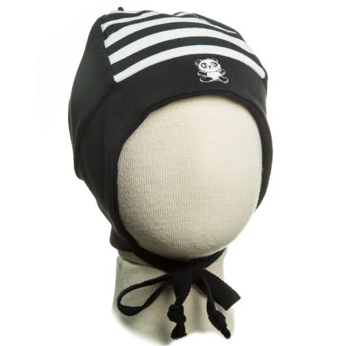 Демисезонная шапка Kivat Панда 351910-41