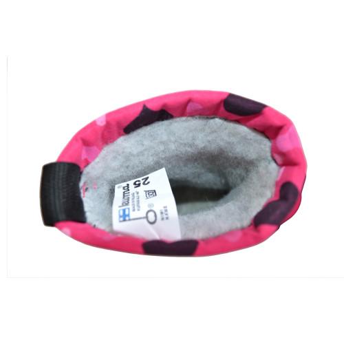 Сапоги Kuoma Putkivarsi Pink Winter Heart 1303 - 3707