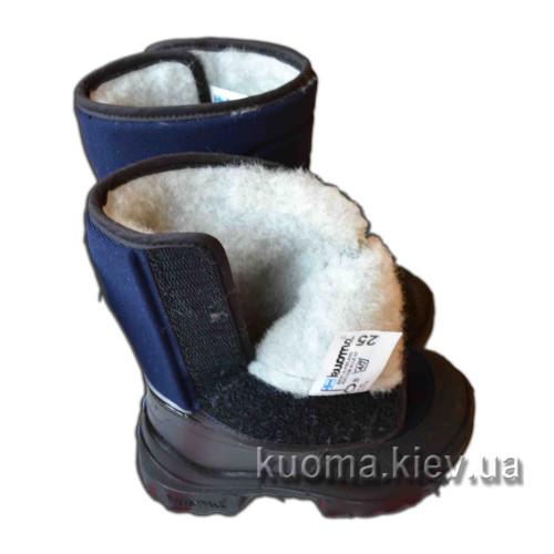 Зимние сапоги Kuoma Куома Tarravarsi синие 1311-01