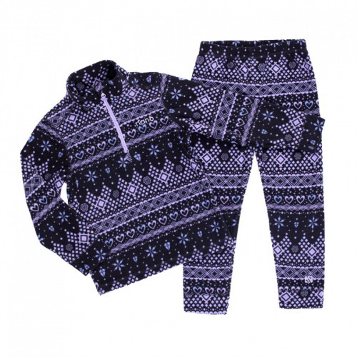 Флисовый костюм NANO BUWP602-F19 Lilac