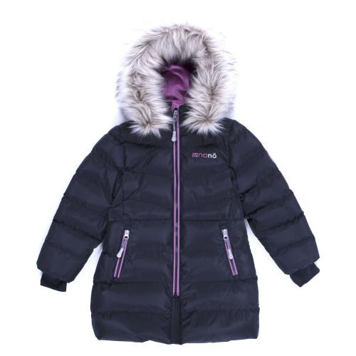 Зимнее пальто NANO F19M1252 Black/DustLilac