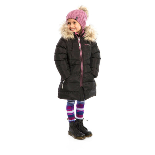 Зимнее пальто NANO F19M1252 Black_DustLilac