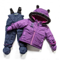 Зимний комплект PELUCHE & TARTINE  F17M08BF Purple Wave / Pale Navy