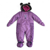 Зимний комбинезон PELUCHE & TARTINE F17M108BF Purple Wave