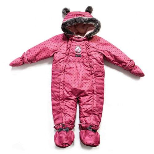 Зимний комбинезон PELUCHE & TARTINE F17M108BF Secret Pink