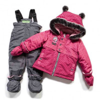 Зимний комплект PELUCHE & TARTINE  F17M08BF Secret Pink / Smoke