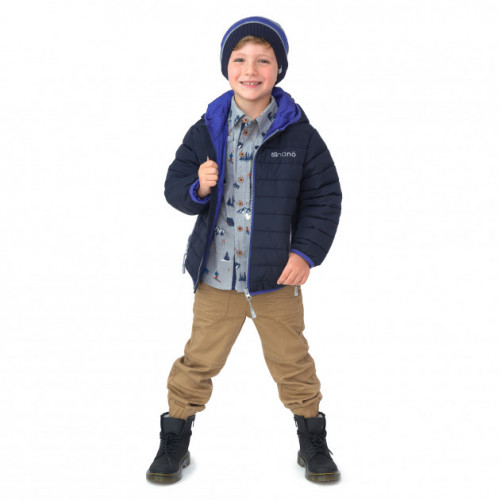 Демисезонная куртка Nano F20M1251 DkNavy