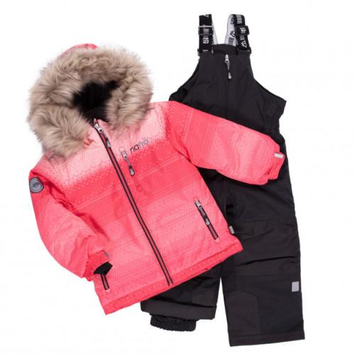 Зимний комплект NANO F20M258 PinkFusion_DpGray