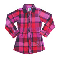 Рубашка для девочки Nano F1406-05 Plaid