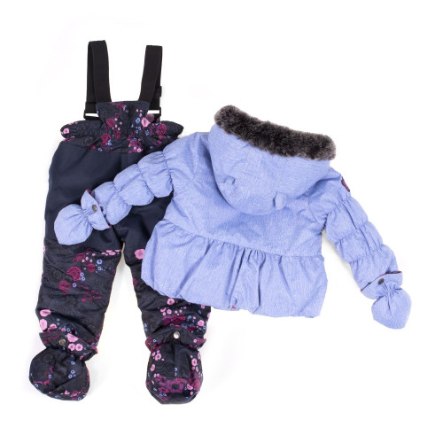 Зимний комплект PELUCHE & TARTINE F18M14BF Blue Lilac