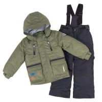 Зимний комплект PELUCHE & TARTINE F18 M 59 EG Lichen / Deep Gray