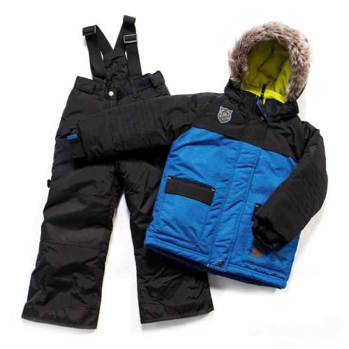 Зимний комплект PELUCHE & TARTINE F17M51EG Blue / Black