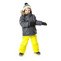 Зимний комплект PELUCHE & TARTINE F17 M 61 EG Smoke / Glow Lime