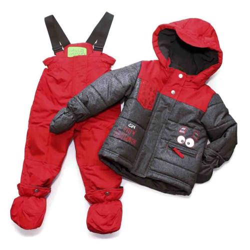 Зимний комплект PELUCHE & TARTINE  F17 M 03 BG Deep Red