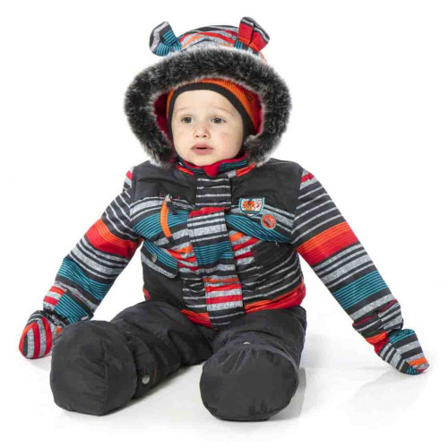 Зимний комплект PELUCHE & TARTINE  F17M09BG Deep Grey