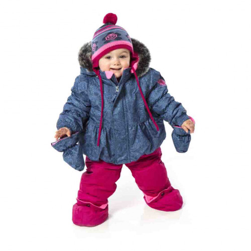 Зимний комплект PELUCHE & TARTINE  F17 M 16 BF China Blue / Berry