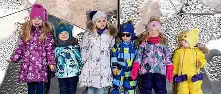 ТОП самых теплых зимних комплектов ребенку